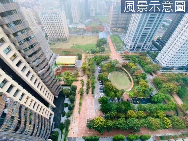 有巢氏新北市買屋-展悅美術館富貴公園第一排高樓景觀豪邸照片1